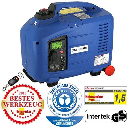Denqbar DQ2800ER digitaler Inverter Stromerzeuger mit Funk 2,8 kW