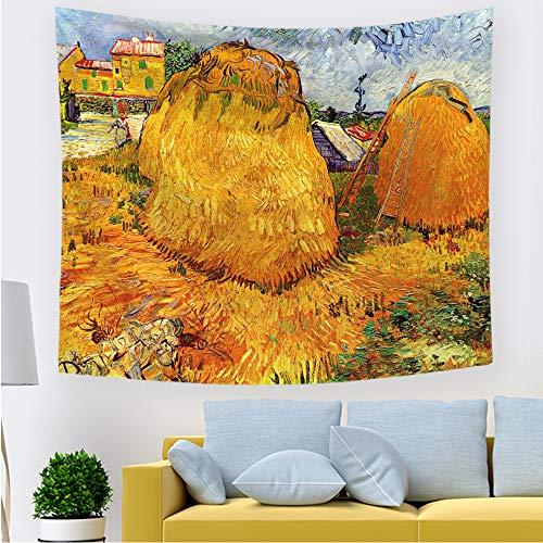 xkjymx Tela Decorativa nórdica Tapiz 211740 200 * 150 cm Franela Gruesa
