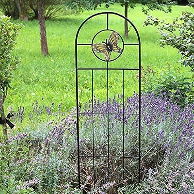 Country Garden Rankgitter Schmetterling 'Essi' | äußerst dekorative Rankstütze für Ihre Kletterpflanzen | passt sich perfekt den Gegebenheiten eines modernen Gartens an von Country Garden bei Du und dein Garten