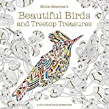 Millie Marotta's Beautiful Birds and Treetop Treasures: A colouring book adventure