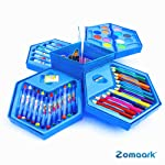 Zomaark® Colors Box Color Pencil,Crayons, Water Color, Sketch Pens Set of 46 Pieces