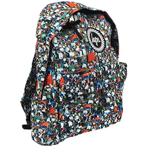 just-hype-hype-bag-speckplainall-over-zaino-uomo-hype-bag-tents-black-taglia-unica