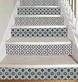 Peel und Stick - Treppenaufkleber - Selbstklebend - Packung mit 5 Stück
