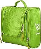 Bago Kulturbeutel / Dusch-Tasche für Reisen, Pflegeprodukte, Makeup und mehr (Grün)