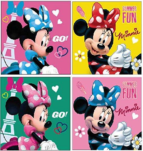 Disney Minnie Mouse Set di 4-Guanto Lavaggio Fleck 69317
