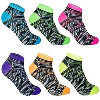 12 Paar Damen Sneaker-Socken Füßlinge 35/38, Farbenmix-1