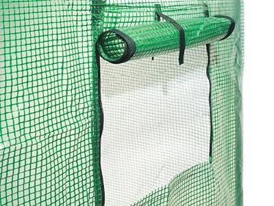Gartenfreude Tomaten Gewächshaus, UV-beständig 200 x 77 x 169 cm (LxBxH) von Gartenfreude - Du und dein Garten