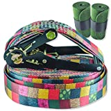BUZZARD Patchwork Slackline-Set 15m