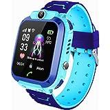 Smartwatch per bambini, IP67, impermeabile, GPS anti-perso, smart phone con chat vocale, sveglia SOS, orologio intelligente p