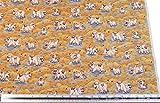 Kinder Bauernhof Schweine, Pink Braun 100% Baumwolle