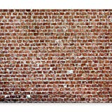 murando – Papier peint intissé 300x210 cm – Trompe l oeil – Tableaux muraux déco XXL – brique texture f-B-0030-a-c