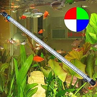Annong® Aquarium Fische Tank Lampe mit Fernbedienung 57cm 30 LED 6.5W 5050 SMD RGB Beleuchtung Bar wasserdicht fuer Aquarien