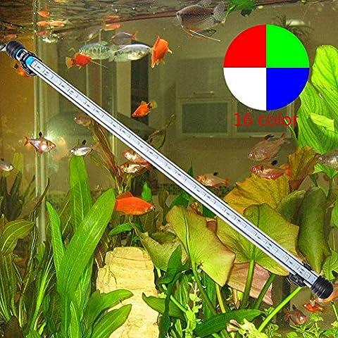 Annong® 57cm 30 LED 6.5W 5050 SMD Aquarium Lumières Rampe