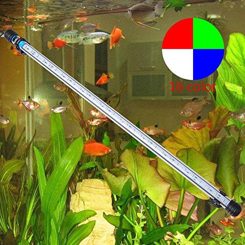 LeGow Underwater Acquario lampada Illuminazione Acquario 5050 SMD RGB luminoso