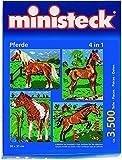 Ministeck 31301 - Pferde 4in1, ca. 3500 Steine und Zubehör