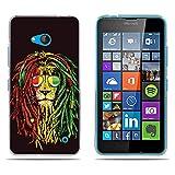 Funda Nokia Microsoft Lumia 640, DIKAS 3D Realzar Carcasas Protección Gona de Alta Calidad, Protector de Silicona TPU Transparente y Fino Funda para Nokia Microsoft Lumia 640- pic: 03