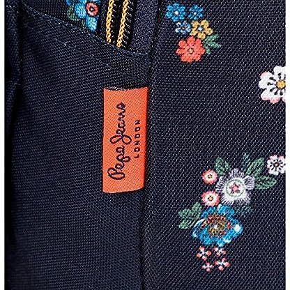 61JqGIqef3L. SS416  - Pepe Jeans Sira Neceser de Viaje, 26 cm, 4.99 litros, Azul