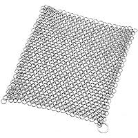 In ghisa per 8x 8Inch acciaio inox 316altissima qualità Chainmail