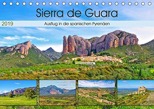 Sierra de Guara - Ausflug in die spanischen Pyrenäen (Tischkalender 2019 DIN A5 quer): Bildkalender der spektakulären südlichen Vorpyrenäen (Monatskalender, 14 Seiten ) por K. A. Lianem