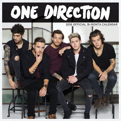 One Direction 2016 Mini 7x7 Global by Browntrout Publishers (2015-07-15)