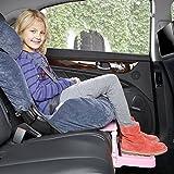iBaste Siège auto bébé Repose-pieds Embout Accessoire pour Siège Auto pour Enfant Tabouret Pieds sécurité enfant Siège auto–Car Seat Foot Rest Booster Seat Foot Rest 0–8ans