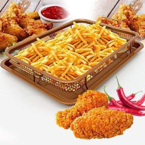 PANGUN Kupfer-Chef Zu Zackeln Crispy Tray Pan Französisch Baking Basket Kitchen Cooking Crispy Tray -