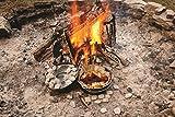 Lodge Logic Camping-Schmortopf aus Gusseisen, 4,5Liter - 3