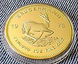 Wir bieten Ihnen hier eine wunderschöne fast 100% detail getreue Nachbildung ( keine billige Kopie !! ) der bekanntesten Goldmünze der Welt.  Die Münze ist mit 24 Karat vergoldet, der Rand ist wie bei der originalen Münze in geriffelter Ausführung. D...