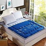 KELE Thickened,Tatami,Mattress Single,Double,Wohnheim,Bed Cushion-B 150x200cm(59x79inch)
