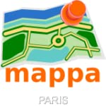Paris Offline mappa Map - Carte Paris...