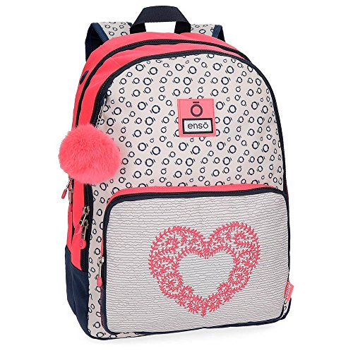 Enso Heart 90224B1 Mochila Escolar