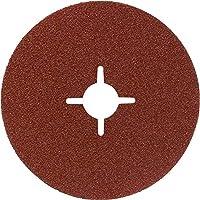Bosch 2 608 605 479 - Disco lijador de fibra para amoladora angular, corindón - 125 mm, 22 mm, 120 (pack de 1)