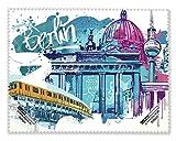 Display- und Brillentuch Berlin: Grafik Berlin