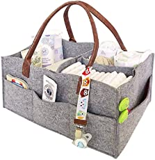 onemoret Baby Windel Caddy Kinderzimmer Storage Bag Bin Auto Organizer Windeln Casual Handtasche