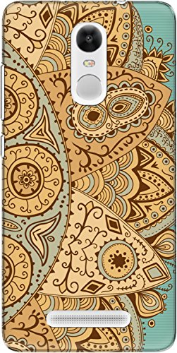 The Racoon Lean printed designer hard back mobile phone case cover for Xiaomi Redmi Note 3. (Orange Hen)