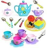 Amitasha Tea Party Pretend Play Kitchen Set Food Toy for Kids (Tea Set)
