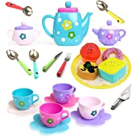 Amitasha Tea Party Pretend Play Kitchen Set Food Toy for Kids (Tea Set)