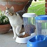 Ferplast 71970099W1 Futterspender ZENITH, für Katzen und Hunde, Maße: 29,2 x 20,2 x 28,8 cm, 3 Liter, weiss - 5