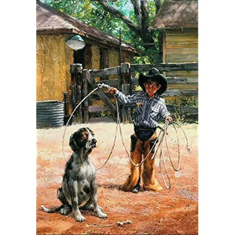 Studio Puzzle 500 pc Jack Sorenson Learnin the Ropes by Bits and Pieces