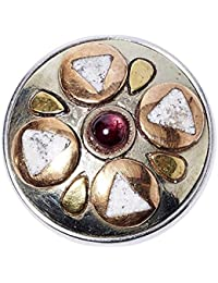 NOOSA Divali Xmas-Chunk silver/gold/red metal/copper/brass + Giftbox Limited Edition