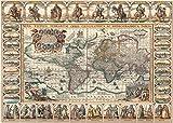 Heidi heidi4711Ancient World Map Art Puzzle (2000)