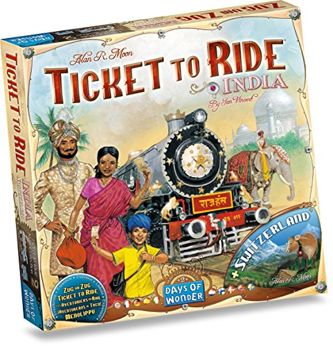 Preisvergleich Produktbild Days of Wonder 811774 - Ticket to Ride India