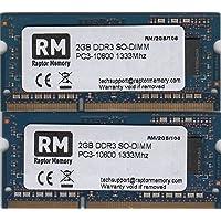 Raptor Memory 4GB kit (2X 2GB) DDR3SO-DIMM