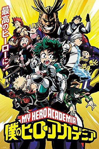 Foto de Póster My Hero Academia - Personajes (61cm x 91,5cm) + 1 póster sorpresa de regalo