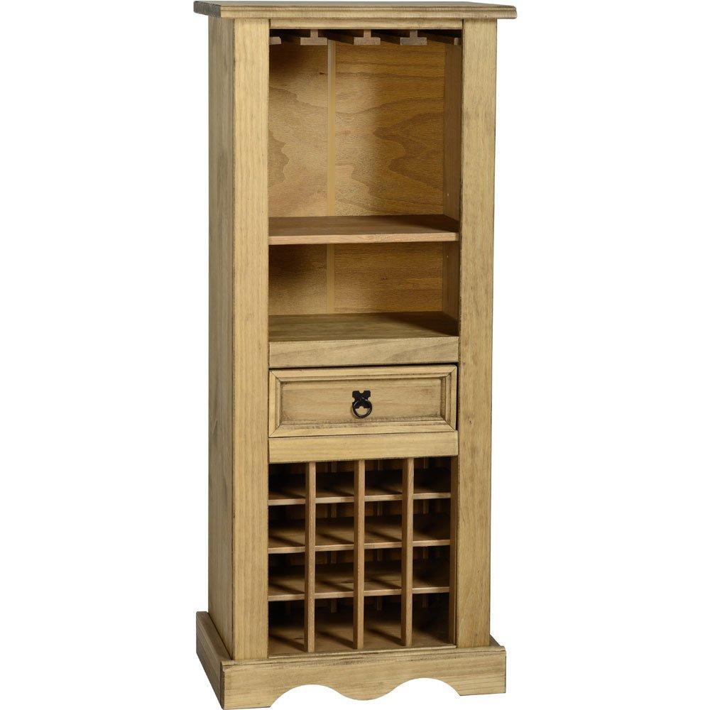 Seconique Corona Pine Wine Rack: Amazon.co.uk: Kitchen & Home
