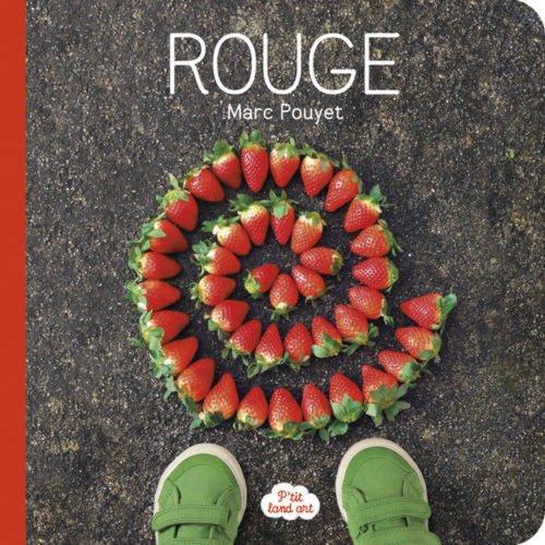 P'tit Land art rouge par Marc Pouyet