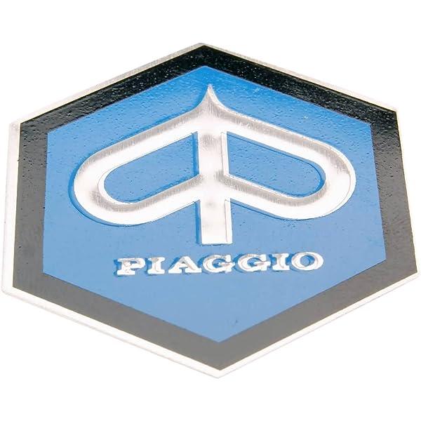 Emblem Piaggio Zum Kleben 6 Eckig 42mm Glatt Für Kaskade Für Piaggio Ape Vespa Gl Rally Auto