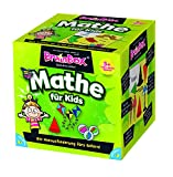 BRAIN BOX 94939 - Lernspiel - Mathe für Kids, Spiel dich schlau - ab 1 Spieler, Dauer circa 10 Minuten