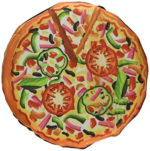 scoochie mascota productos scoochzilla rígida nueva york Pizza perro juguete, 17,8cm
