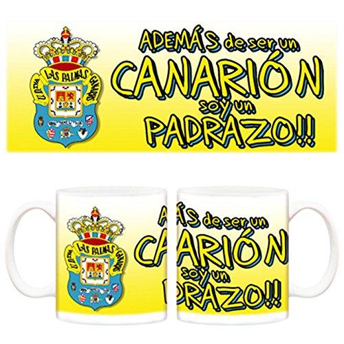 Taza Día del padre padrazo y además un Canarión UD Las Palmas fútbol